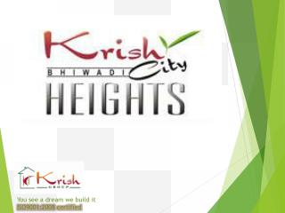 Krish City Heights 2 BHK Properties In Bhiwadi book now