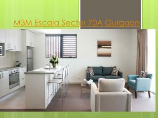 M3M Escala Sector 70A Gurgaon, residential flats in Sector 7