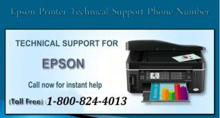 1-800-824-4013  Epson Printer Technical Support Phone Number