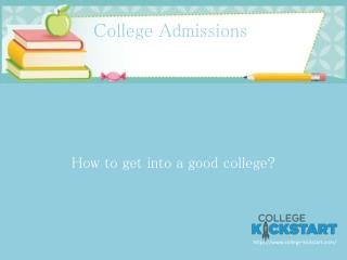 Introducing College Kickstart 2015