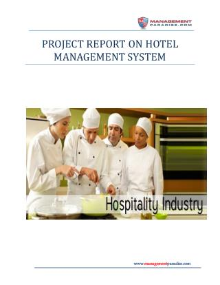 Study on Performance Management System in the Hospitality In
