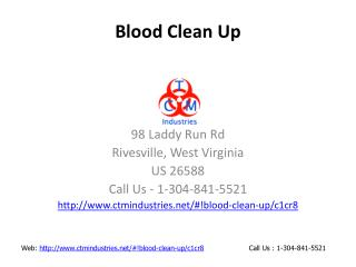 Blood Clean Up