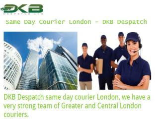 Same Day Courier London - DKB Despatch