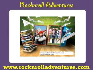 School Trip to France-Rocknroll Adventures Ltd