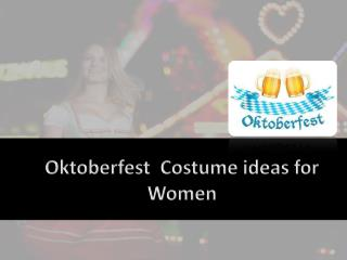 Oktoberfest Costume ideas for Women
