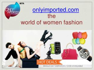 Hot Deals Offer On Women Fashion Accessories