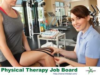 Physical Therapy Job Board