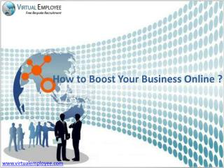 How to Boost Your Business Online?