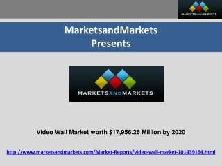 Video Wall Market by Product