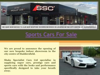Sport Cars for Sale UK
