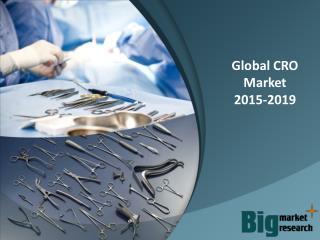 2015-2019 Global CRO Market