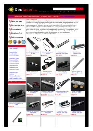 Grüner Laserpointer kaufen