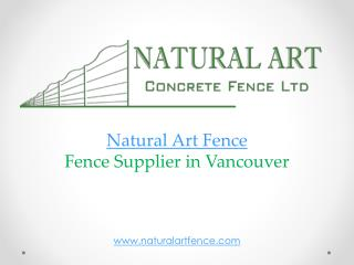 Fence contractors in Vancouver