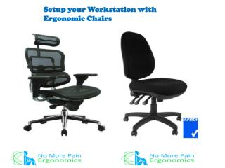 Setup your Workstation with Ergonomic Chairs