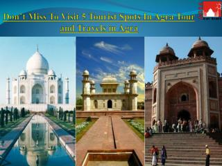 Best Tour and Travels in Agra