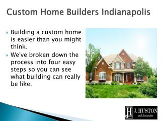 Custom Home Builders Indianapolis