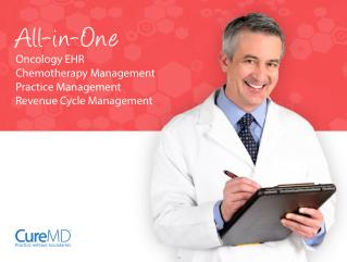 All-in-One Oncology EHR Chemotherapy Management Practice Man