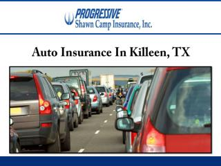 Auto Insurance In Killeen, TX