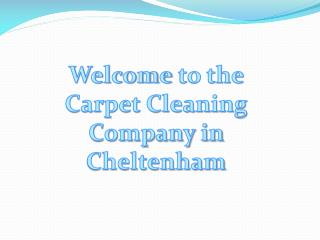 Carpet Cleaning in Cheltenham