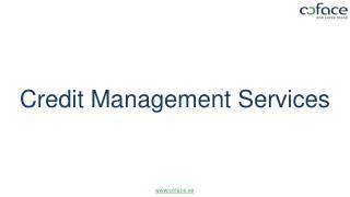 Credit Management Services