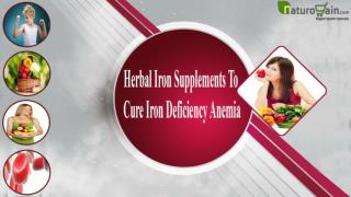Herbal Iron Supplements To Cure Iron Deficiency Anemia