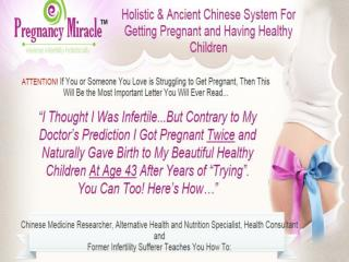 Pregnancy Miracle Review 2015 - Does It Really Work?