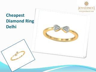 Cheapest Diamond Ring Delhi