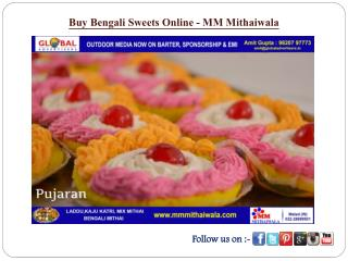 Buy Bengali Sweets Online - MM Mithaiwala