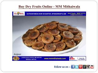Buy Dry Fruits online - MM Mithaiwala