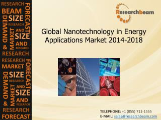 Nanotechnology in Energy Applications Market Size, 2014-2018