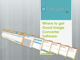 Where to get Good Image Converter Software