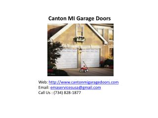 Garage Door Opener Repair Canton MI