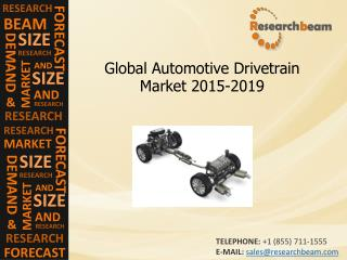 Automotive Drivetrain Market Demand, Size, Trends, 2015-2019