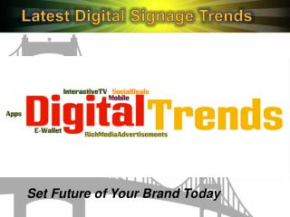 Latest Digital Advertising Trends 2015