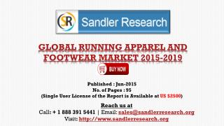 Vendors in Global Running Apparel and Footwear Market Report