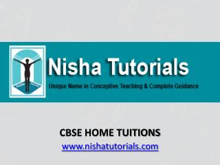 CBSE Home Tuitions In Mumbai