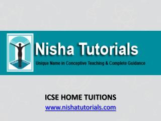 ICSE Home Tuitions In Mumbai