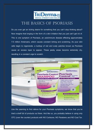 The Basics of Psoriasis