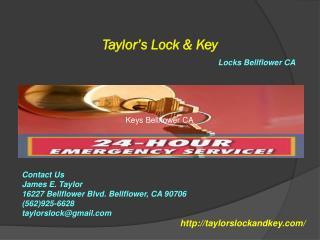 Locks Bellflower CA