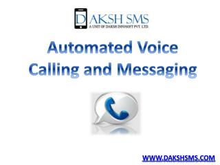 Voice Call Services For Your Business