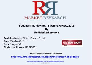 Peripheral Guidewires - Pipeline Review, 2015