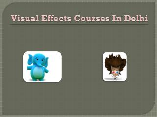 visual effects courses in delhi