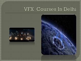 vfx courses in delhi