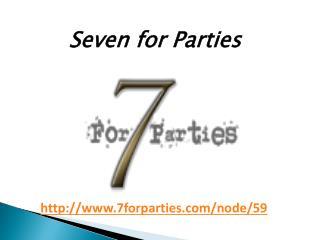 Dallas Design District Weddings - Seven for Parties