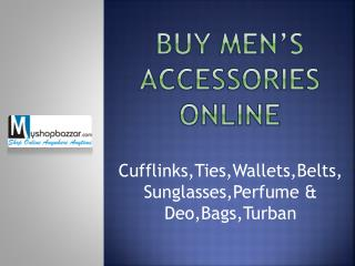 Buy Branded Men Accessories Online India
