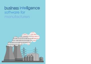 Business Intelligence For Manufacturers