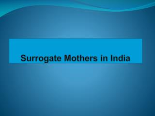 Surrogate Mothers Make Dreams Come True-Surrogate Mothers