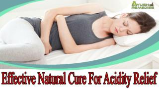 Effective Natural Cure For Acidity Relief