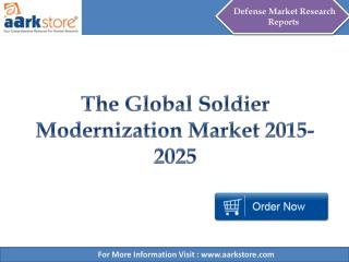 The Global Soldier Modernization Market - Aarkstore