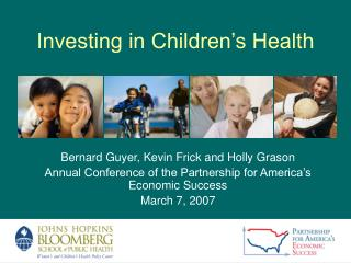 Investing in Children's Health